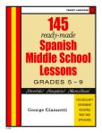 145 Spanish Middle School Lessons