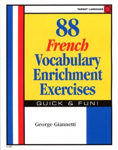 88_ French_Vocabulary_ Enrichment_Exercises