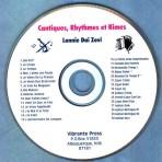 Cantiques, Rhythmes et Rimes Replacement CD
