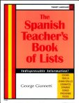 A Spanish Teacher's Book of Lists