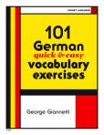 101 German Vocabulary Exercises
