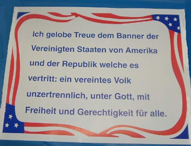 german spanish: