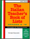 The Italian Teacher's Book of Lists
