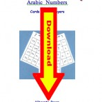 Arabic Numbers Bingo Digital Download