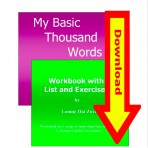 My Basic Thousand Words- Digital Download