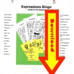 Expressions Bingo Digital Download